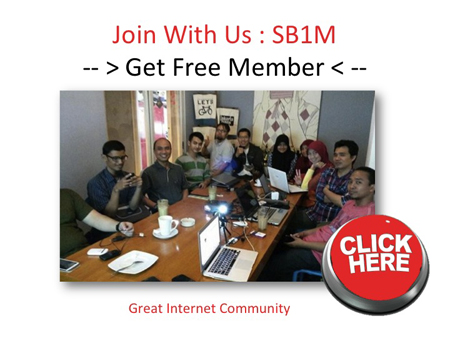 komunitas internet marketing get free member