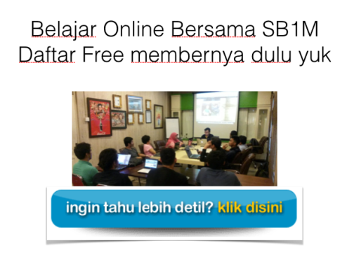 belanjar bisnis online bersama komunitas internet