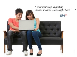 staring income online here..